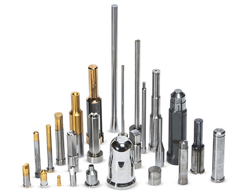 Carbide and Steel Extrusion Pins