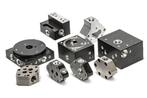 Hydraulic Manifold Machining